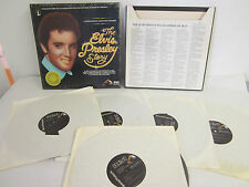 The Elvis Presley Story, A Limited Edition Collectors Treasury, 5 LP Box Set