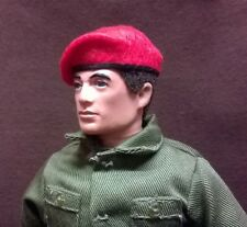 Banjoman 1:6 Scale Custom Made Beret For Vintage Action Man - Red - RMP
