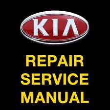 KIA RIO 2001 2002 2003 2004 2005 SERVICE REPAIR MANUAL