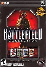 Battlefield 2 Complete Collection PC DVD 4 Game Collection DVD with box.