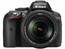 Nikon D5300 with (AF-S 18-140 mm VR Lens) DSLR Camera