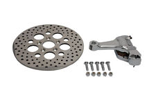 "Harley Softail 1987-1999 Chrome Rear 4 Piston Caliper Brake & 11-1/2"" Disc Kit"