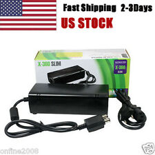 AC Adapter Power Supply Cord Charger FOR XBOX 360 Slim US Stock 2-3Days Arrivals