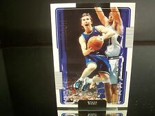 Rare Steve Nash Upper Deck 2001 Card #33 Dallas Mavericks NBA Basketball