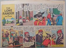 Lone Ranger Sunday Page by Fran Striker and Charles Flanders from 10/31/1943