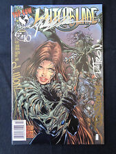Witchblade 10 1st app Darkness Signed David Wohl Michael Turner +  COA VF/NM