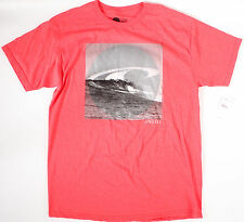O'Neill Slab T-Shirt- L-NEW-red tee-top-$24 -classic wave logo- oneill surf-