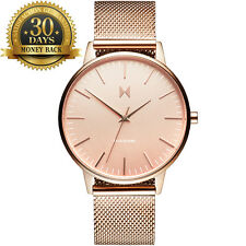 MVMT Women Watch Lady Rose Gold Stainless Steel Strap Wrist Watch Girl Fashion