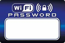 WiFi Password/Key Dry Erase Magnet