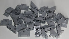 30 Lego star wars LIGHT GRAY 4211666 Plate 2X4/2X2X1 W. Vertical Snap batman