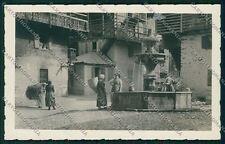 Udine Forni di Sotto Carnia Costumi Foto cartolina QK4616