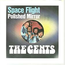 """THE GENTS - Space Flight - 1976 German 2-track 7"""" vinyl single in picture sleeve"""