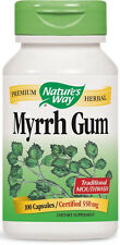 Myrrh Gum - 100 Capsules - Nature's Way