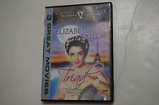 Elizabeth Taylor Triad (DVD, 2004, 3 Features) Spencer Tracy