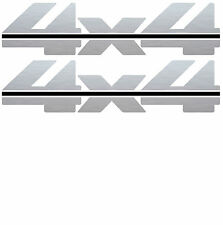 1988 - 1997 4x4 Decals for Chevy Silverado GMC Sierra 1500 2500-Vinylmark SLVBL