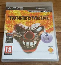 TWISTED METAL Jeu Sur Sony PS3 Playstation 3 Neuf Sous Blister VF
