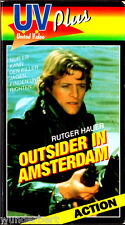 """VHS - """" Outsider in AMSTERDAM """" (1979) - Rutger Hauer"""