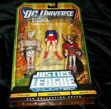 JUSTICE LEAGUE UNLIMITED SUPERGIRL WARLORD MOC DC COMICS SIGNED BY MIKE GRELL