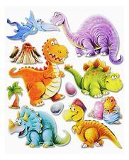 3D Wandsticker Wandtattoo süße Dinos Dinosaurier T-Rex usw für Kinderzimmer #501
