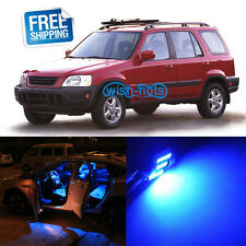 6X Blue LED Light Interior Replacement Bulb Package for Honda CRV 97-01