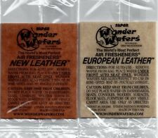 WONDER WAFERS® Air Freshener - 2pk - New Leather/European Leather