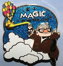 Disney Pixar UP Carl w/ Balloons House Magic Is In The Air LE 3000 Pin