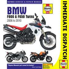 [4872] BMW F800 F650 F700 Twins inc Adv 2006-15 Haynes Workshop Manual