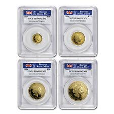 2004 4-Coin Gold Britannia Proof Set PR-69 PCGS - SKU #68941