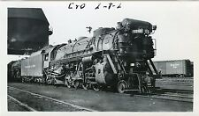 6A840  RP 1940/50s C&O CHESAPEAKE & OHIO RAILROAD ENGINE #1211 RICHMOND VA