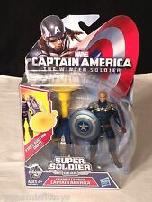 Marvel CAPTAIN AMERICA Super Soldier Gear GRAPPLE CANNON Action Figure NEW