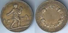 Médaille de table - MARENNES union comices arrondissement d=36,5 ARGENT 22 gr