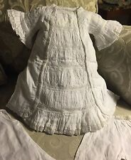 Beautiful Antique Replica Dress for French Bru Jne or Jumeau Doll