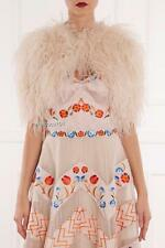 Temperley London Feather Jacket Dress Coverup Bolero RRP920GBP