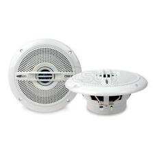 "Caliber CSM6 6.5"" 17cm White 2 Way Marine Speakers Boat Kitchen Bathroom 1 PAIR"