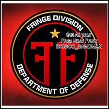 Fridge Fun Refrigerator Magnet FRINGE Division TV Logo C - Anna Torv Fox