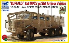 "Bronco 1/35 ""Buffalo"" 6x6 MPCV with Slat Grill Armor Version #35101"