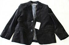 Boys Black Velvet Blazer Size 6 / 7 Brand New with Tags