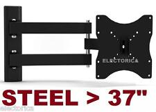 "10-37"" STEEL LCD LED TV WALL MOUNT BRACKET TILT SWIVEL 3D HD 27 21 19 24 30 35"
