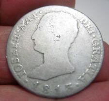 1813 M. R.N (SPAIN) 4 REALES (SILVER) (NAPOLEON ) ** RARE-RARE-RARE**