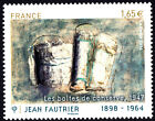 France 2014 50th Anniv Death of Jean Fautrier, 1898-1964 Stamp, MNH
