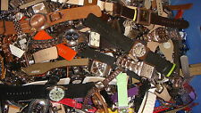 TRADE LOT JOB LOT OF 50 NEW  DUMMIES WATCHES  MIX NAMES     GOOD FOR NEW STRAPS