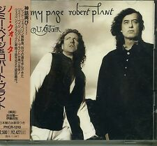 JIMMY PAGE & ROBERT PLANT - NO QUARTER - 1994 JAPAN CD SEALED - Led Zeppelin
