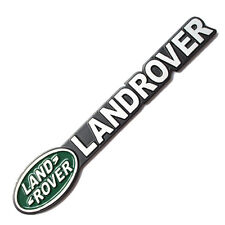 Letter LANDROVER Aluminium Badge Emblems Fit For Jeep Defender or Discovery Auto