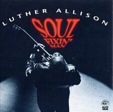 LUTHER ALLISON SOUL FIXIN' MAN ALLIGATOR RECORDS BLUES CD - HOT VOCAL AND GUITAR