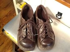 Dr Martens (12283) Brown Leather Heavy Lace up Oxfords Women Size 39/UK6/ US 8