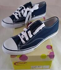 Soda Spy - G Women's Navy Blue Size 9 Canvas Sneaker / Tennis Shoe