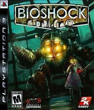 BioShock (Sony PlayStation 3, 2008) COMPLETE, GREAT SHAPE, W/SLIPCOVER
