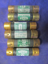 NON60, 60 Amp Fuse 250 Volt One Time Class K5 FUSES MATCH SET OF 6