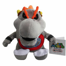 New Super Mario Bros Baby Dry Bowser Bones Koopa Plush Doll Soft Toy Gift 17cm