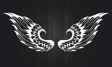 Sticker car motorcycle helmet decal vinyl chopper biker skull wings r3